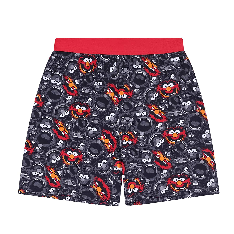 The Muppets Animal Official Gift Mens Loungewear Retro Short Pyjamas