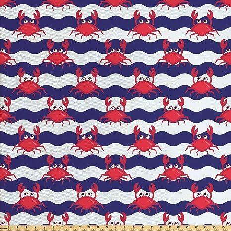 artesanías y trajes! Divertidos Monstruos por 1//2 M de Tela de Algodón para coser