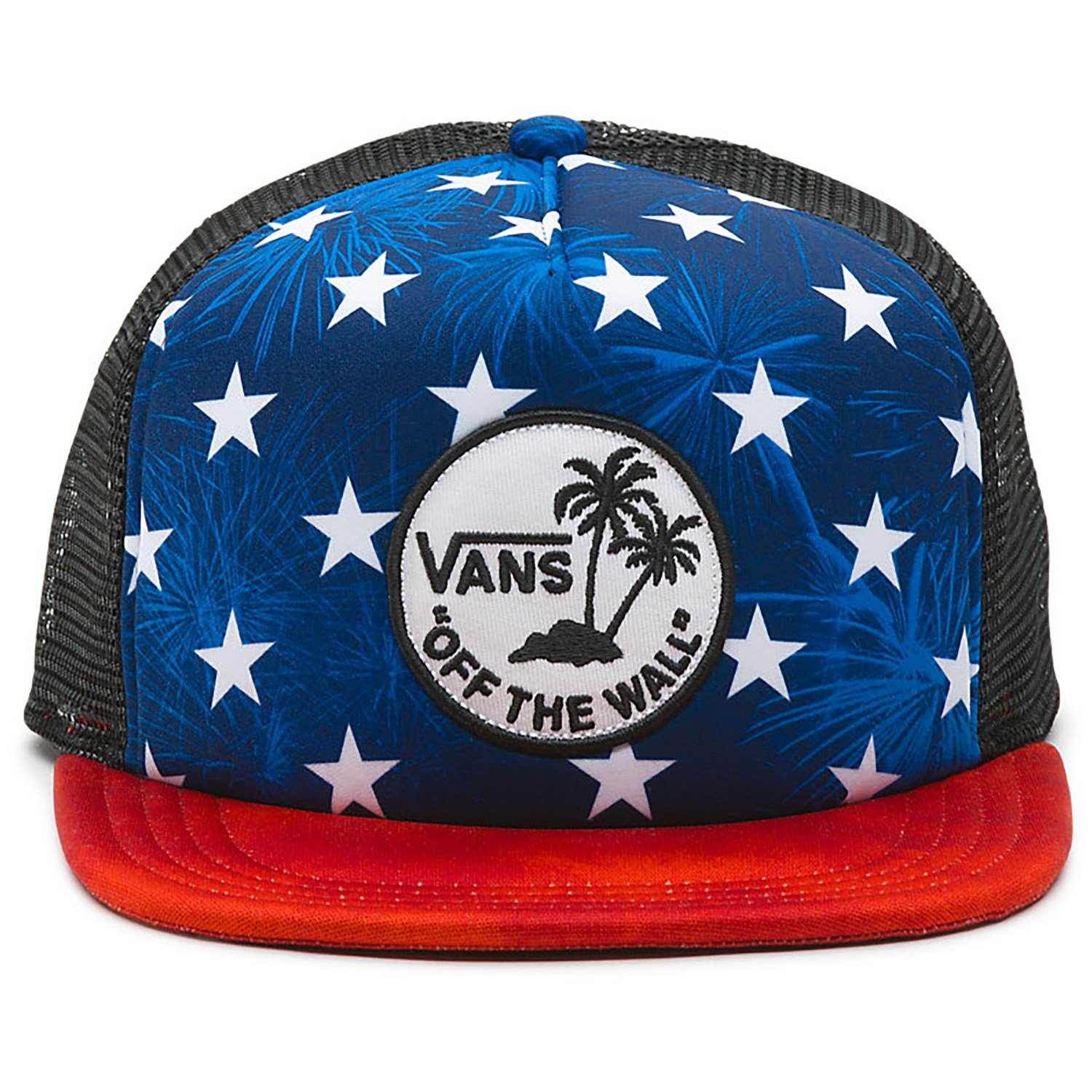 Vans Surf Patch Stars Trucker Hat at Amazon Men s Clothing store  e9681a893