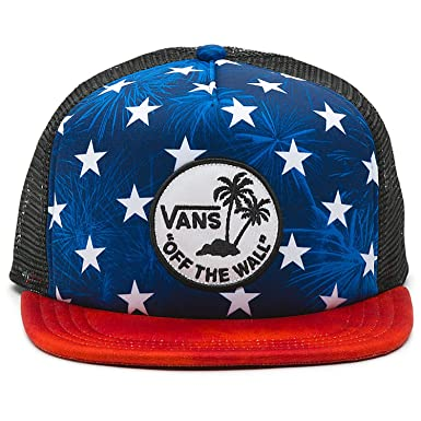 d68ecda3886fed Image Unavailable. Image not available for. Color  Vans Surf Patch Stars Trucker  Hat
