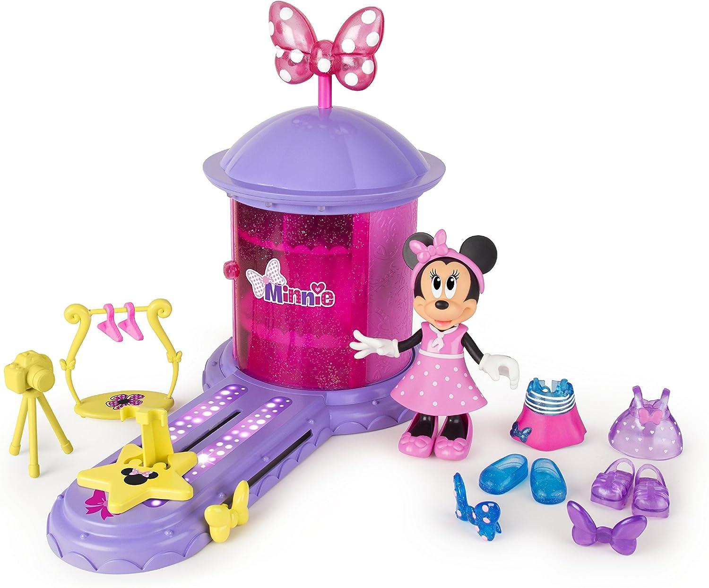 Amazon.es: IMC Toys 182622 - Preescolar Gira Estilos mágico Minnie: Juguetes y juegos