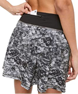 d6ef07bfe Lululemon Lost in Pace Skirt at Amazon Women's Clothing store: