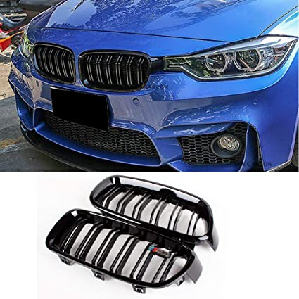Amazon Com Fandixin F30 Grille Abs Front Kidney Grill For Bmw 3