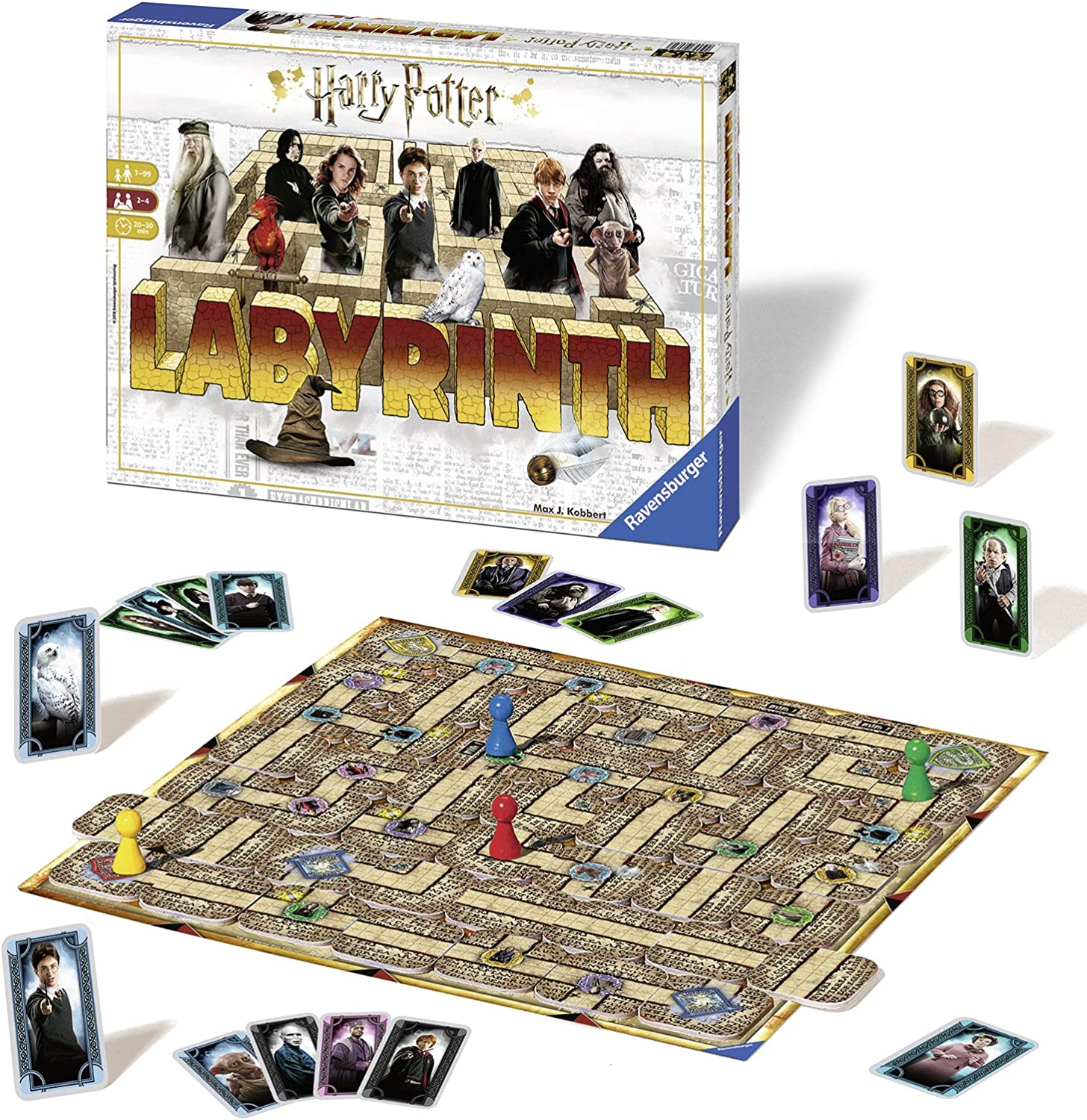 Ravensburger Harry Potter Labyrinth Game Board Games Amazon Canada