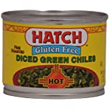 Hatch Hot Diced Green Chiles 4oz 12 pack