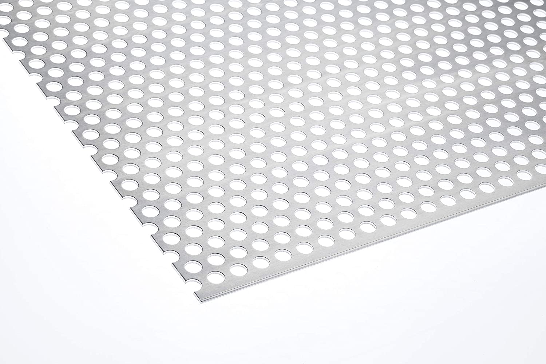 Lochblech Aluminium RV 10-15 2mm Zuschnitt individuell auf Ma/ß NEU g/ünstig 500 mm x 100 mm