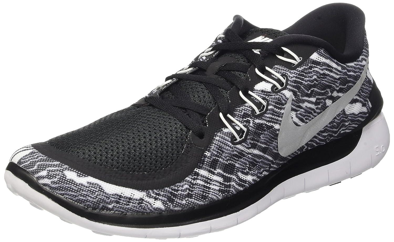Nike Men's Free 5.0 Running Shoe B010NA3FI0 10 D(M) US|Black/White/White