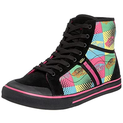 604b9916af Vans Women s Wellesley 80 s black pink VF60322 6 UK  Amazon.co.uk  Shoes    Bags