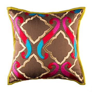 Amazon.com  Aztec Moroccan Decorative Accent Throw Pillow Covers for ... 0c56ce8a9
