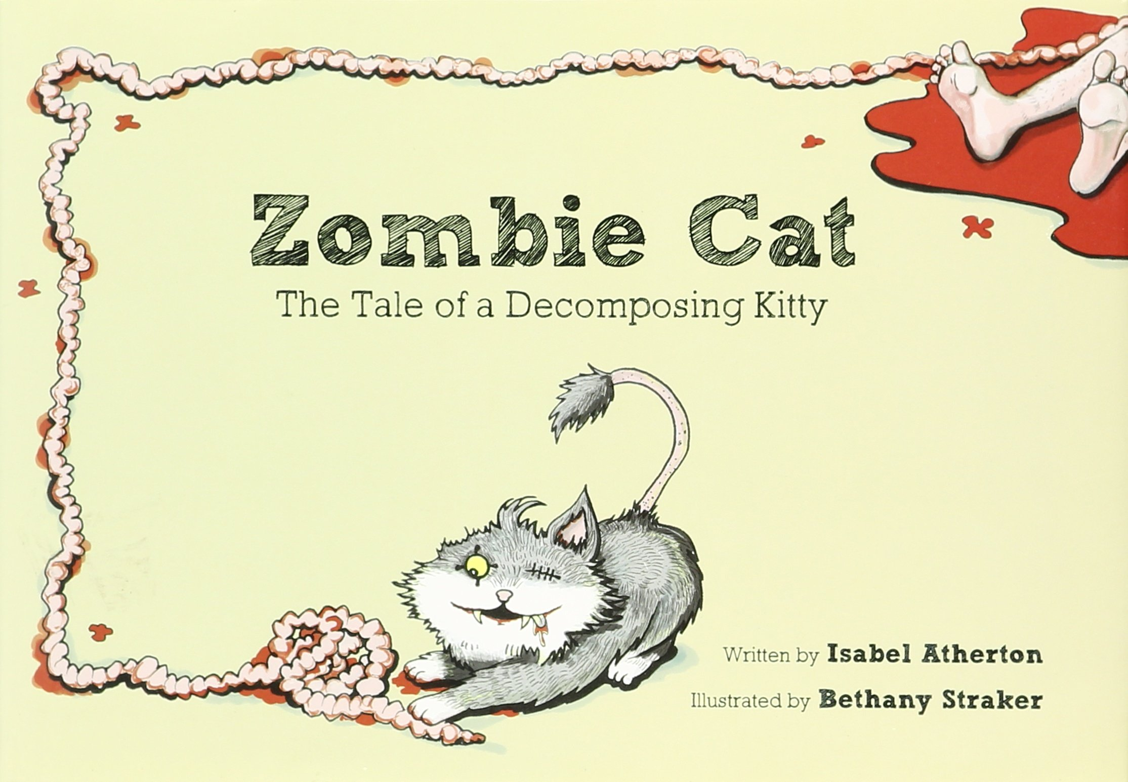 Read Online Zombie Cat: The Tale of a Decomposing Kitty pdf epub
