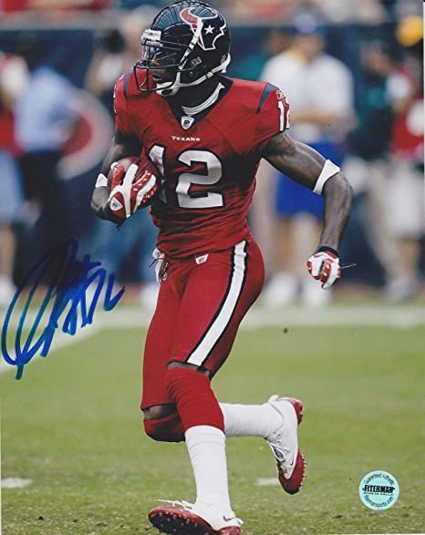 Jacoby Jones Houston Texans Signed Autographed 8x10 Photo FSG Authen -  Autographed NFL Photos 77a662e6a