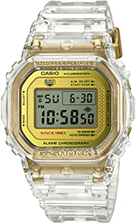 Casio G-Shock DW-5035E-7JR Glacier Gold 35th Anniversary Clear Skeleton Shock