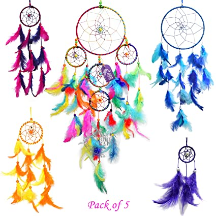 Asian Hobby Crafts Dream Catcher Wall Hanging : 'Mega Combo'