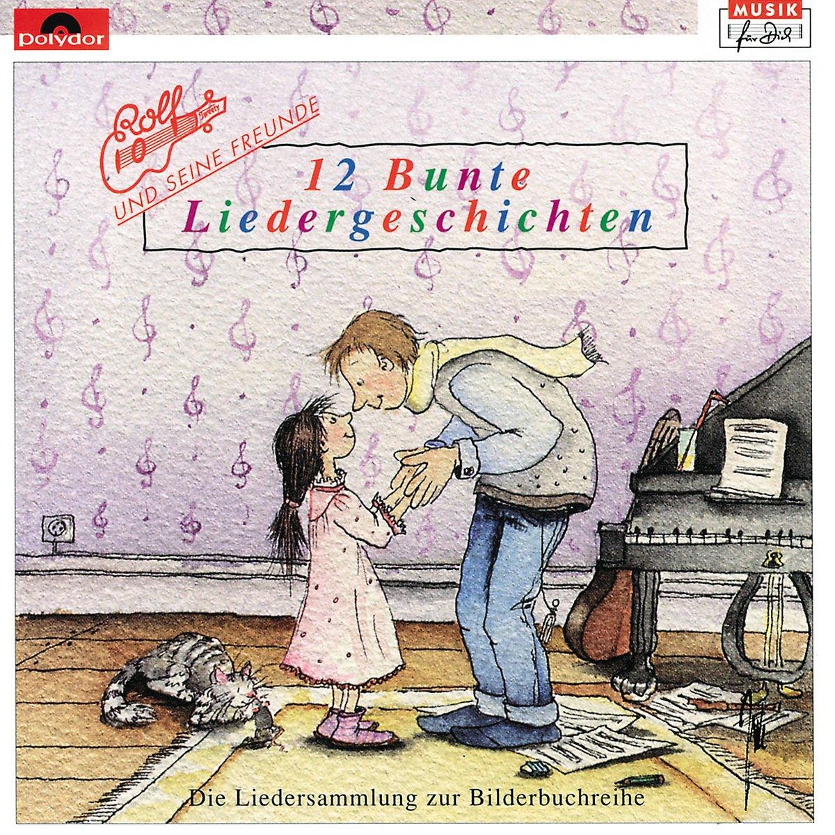 CD : Rolf Zuckowski - 12 Bunte Liedergeschichten (Germany - Import)