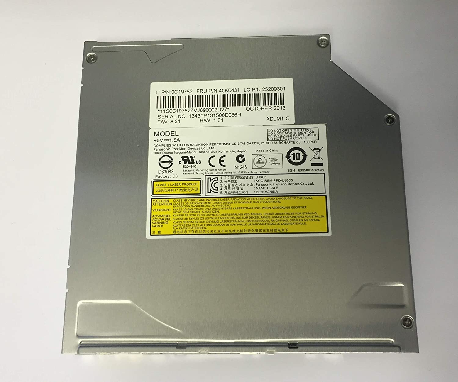 HP 513197-800 DVD Drive - 8X SMD NonLS SS Bzl ECO