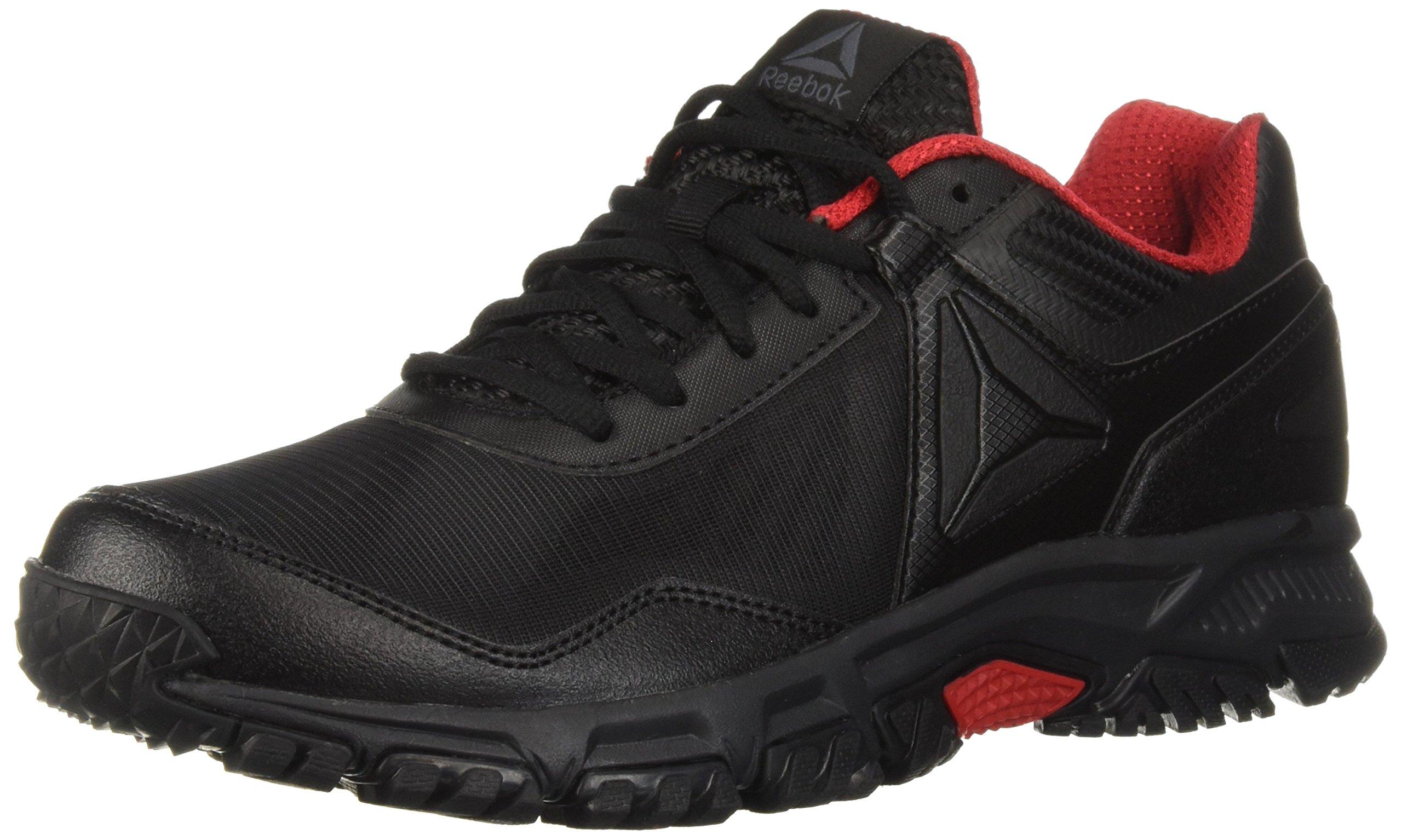 Reebok Men's Ridgerider Trail 3.0 Sneaker, Flint Grey/Alloy/Acid Blue/Black, 12 M US by Reebok