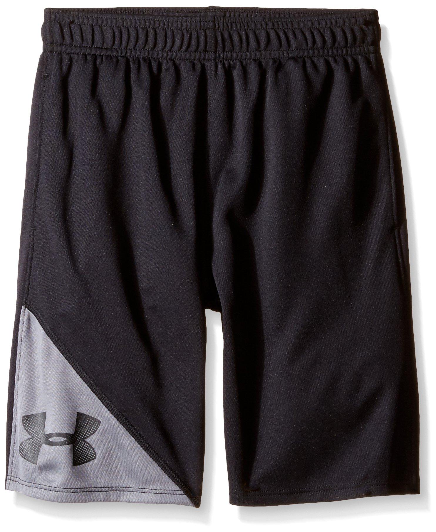 Under Armour Little Boys' Prototype Short, Black, 6