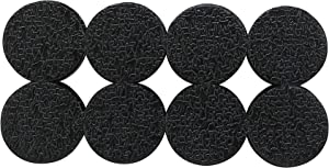 Shepherd Hardware 3602 1-Inch Surface Grip Adhesive Non Slip Pads, 16-Count,Black