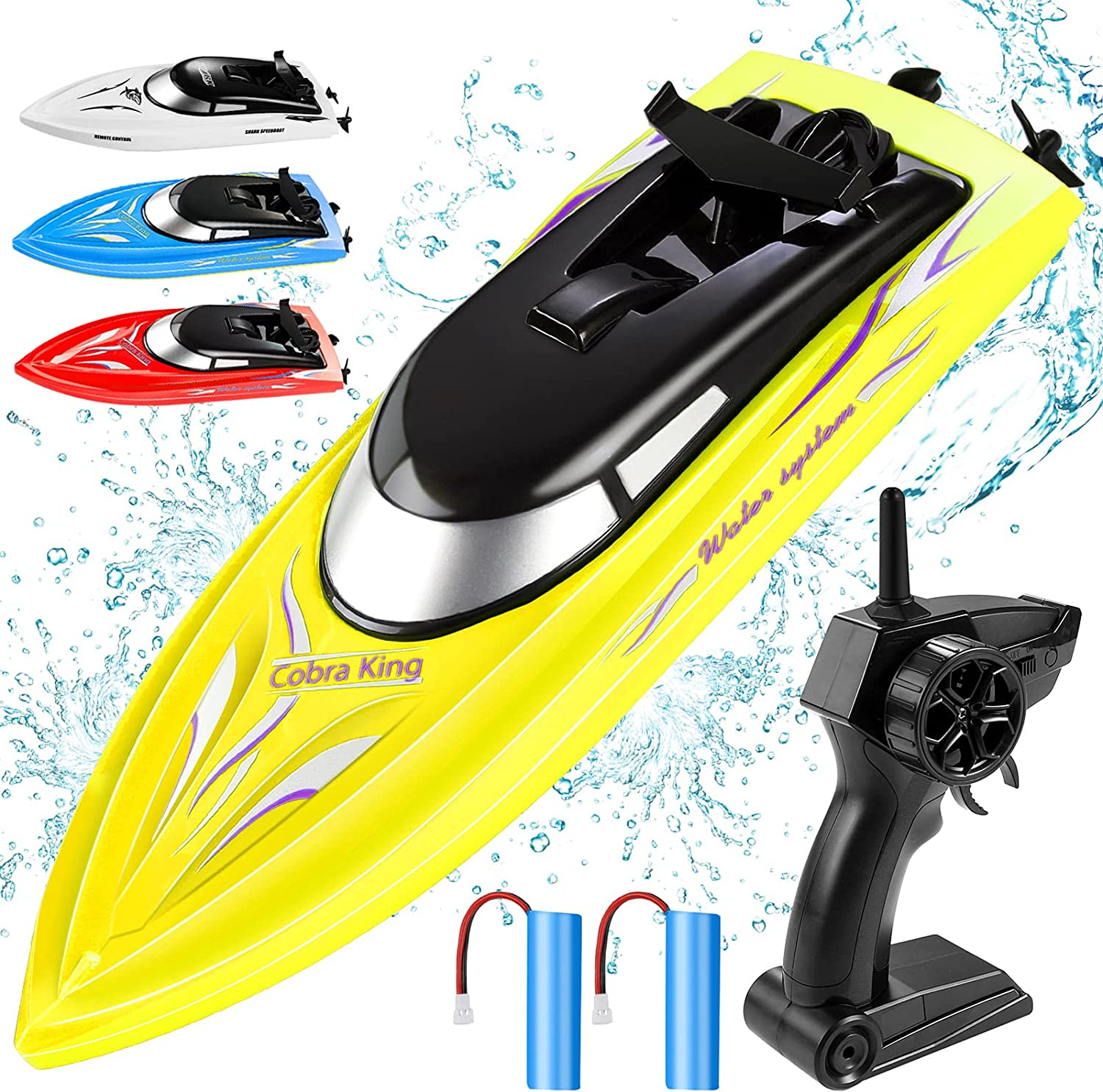 RC Boat Remote Control Boats for Pools and Lakes Wemfg RH701 15km ...