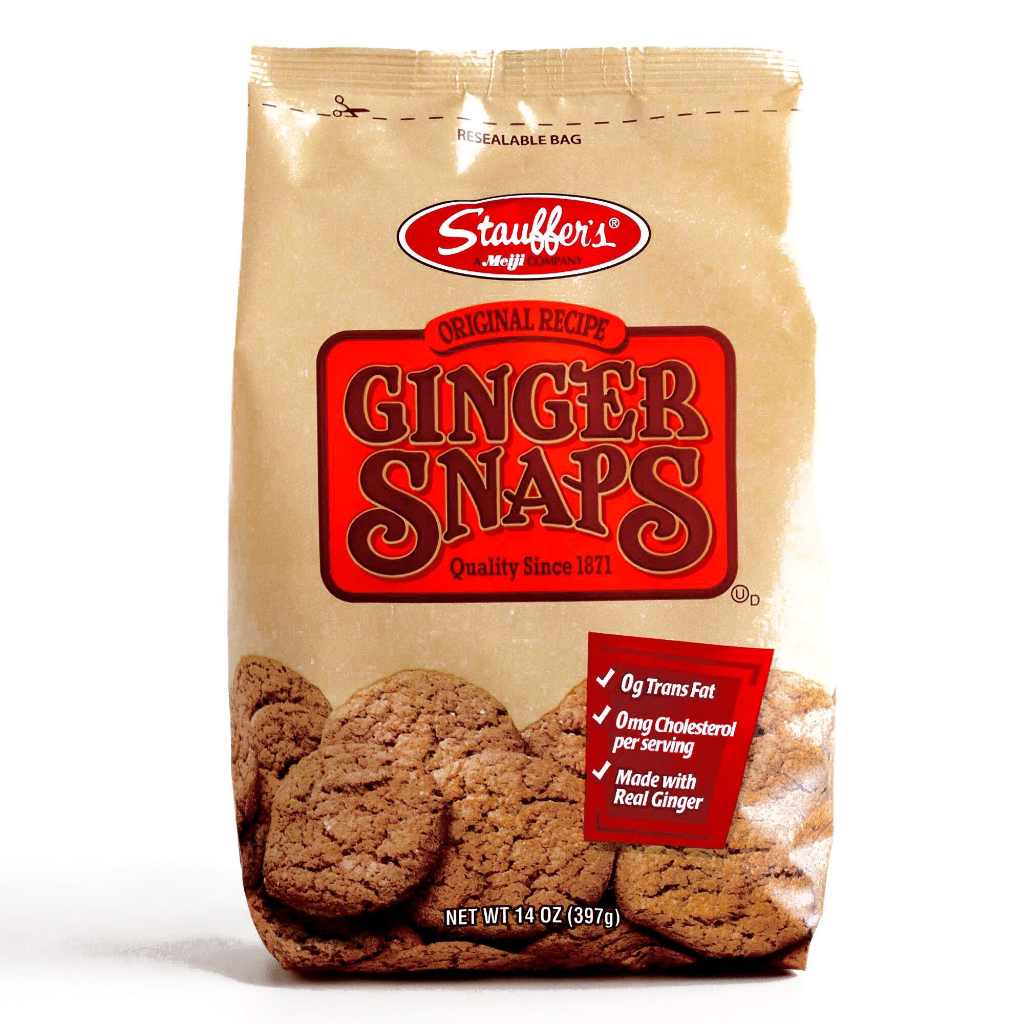 Stauffer's Ginger Snaps 14 oz each (3 Items Per Order)