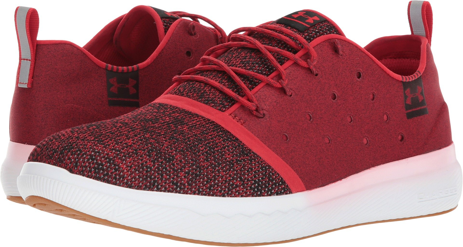 Under Armour Men's UA Charged 24/7 Low Red/White/Red 9.5 D US