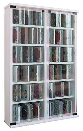 Vcm Cabinet Shelf Storage Unit Cd Dvd Stand Furniture Display