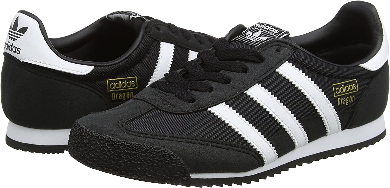 aeropuerto atención cuota de matrícula  Amazon.com: adidas - Dragon OG J - BB2487 - Color: White-Black - Size: 4.5  Big Kid: Shoes