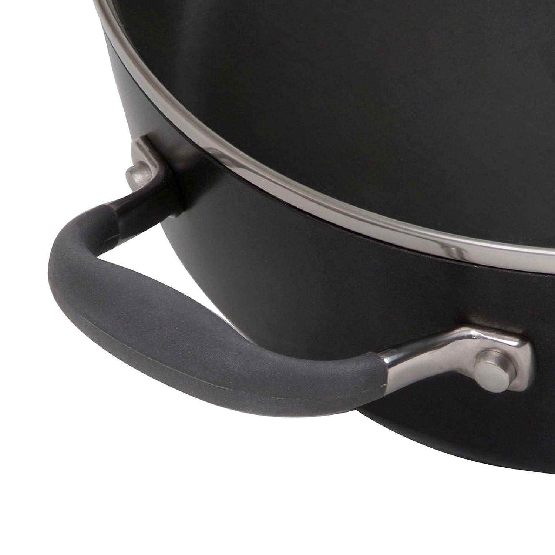 Anolon Advanced Bronze Hard Anodized Nonstick 3.5-Quart Covered Chefs Casserole