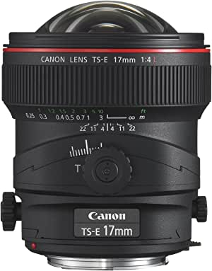 Canon TS-E 17mm f/4L UD Aspherical Ultra Wide Tilt-Shift Lens for Canon Digital SLR Cameras