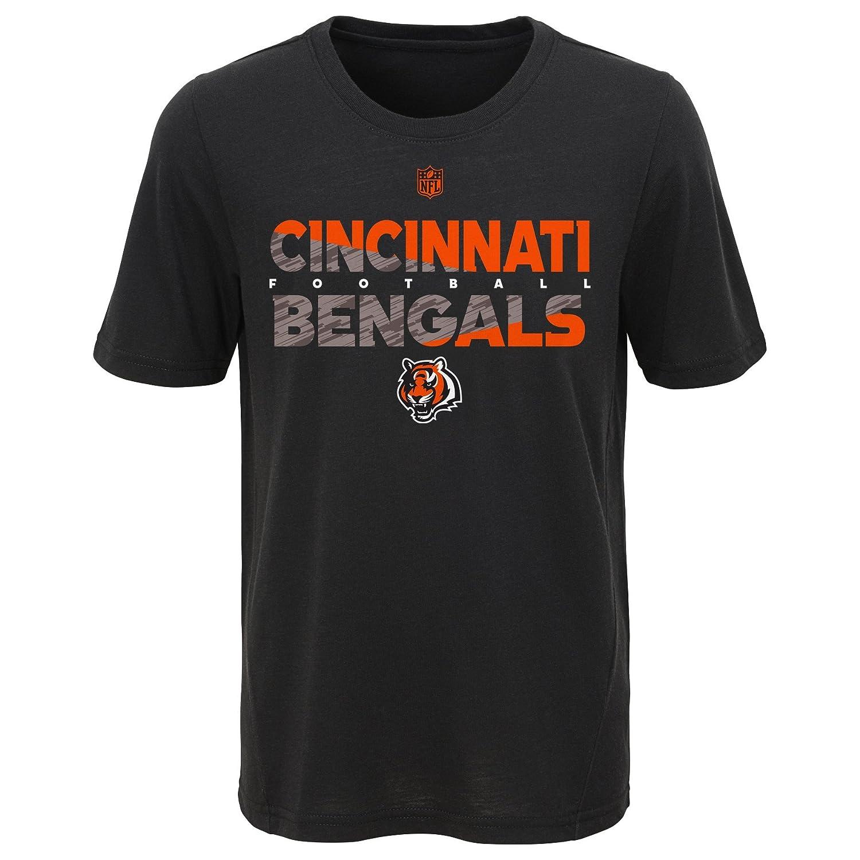 Boys Outerstuff Short-Sleeve Cincinnati Bengals T-Shirt Gray