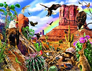 product image for Desert Eagles 1000 pc Jigsaw Puzzle by SUNSOUT INC