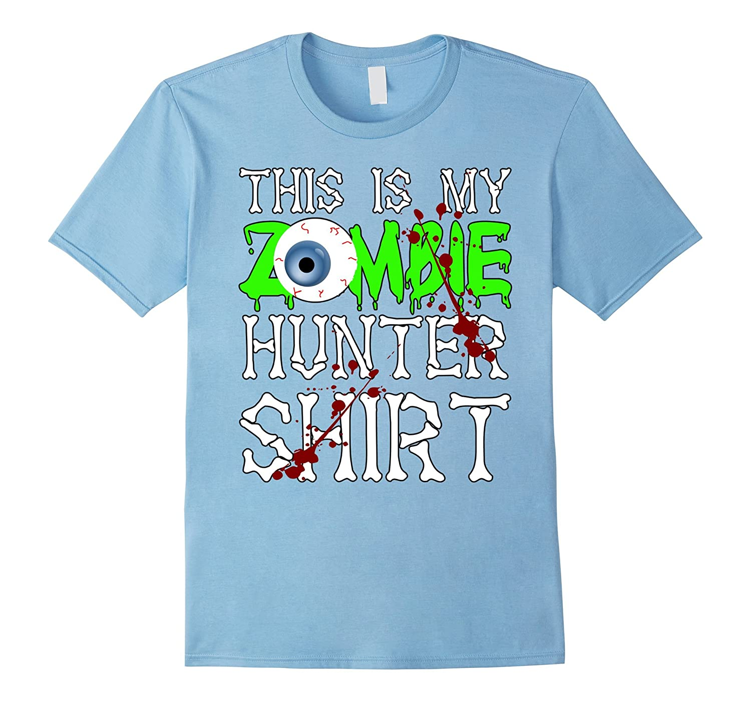 This is my Zombie Hunter T-Shirt - Funny Halloween Tee-BN