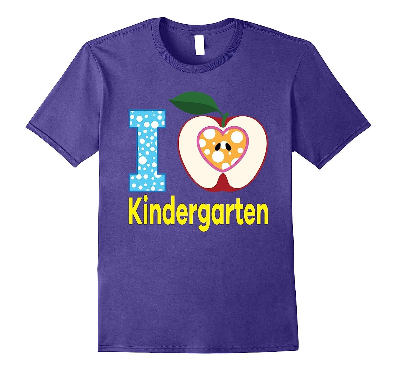 I Love Kindergarten T-Shirt Kids & Teachers Back to School-Art