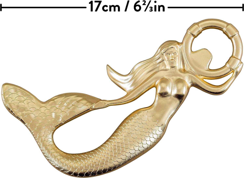 Brass coated Branded Gift Box Mermaid Bottle Opener