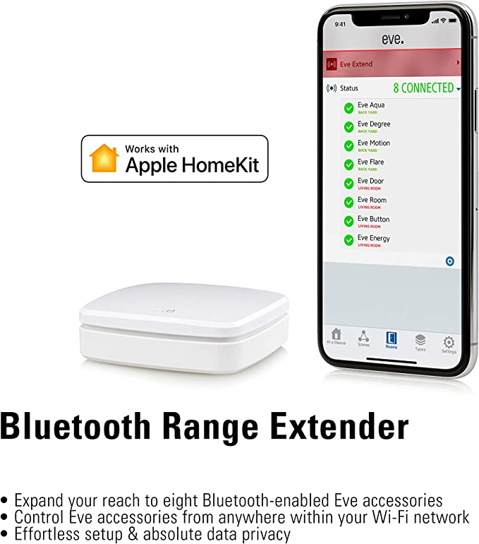 Amazon Com Eve Extend Bluetooth Range Extender For Apple Homekit Enabled Eve Accessories Home Improvement