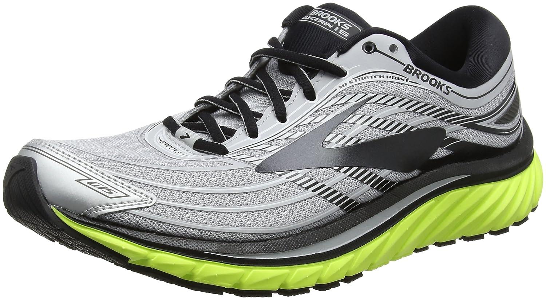 Brooks Glycerin 15, Zapatillas de Running para Hombre 42.5 EU Multicolor (Silver/Black/Nightlife 1d035)