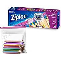 Saco Hermético ZipLoc para Organizar, 20 Sacos, Tamanho Médio