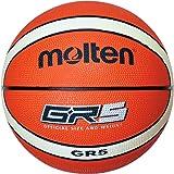 molten(モルテン) バスケットボール GR5 BGR5-OI オレンジ×アイボリー 5号