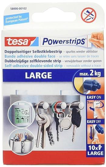Gegenstand Im Badezimmer 94   Tesa Powerstrips Large Doppelseitige Klebestreifen Zur Montage Von
