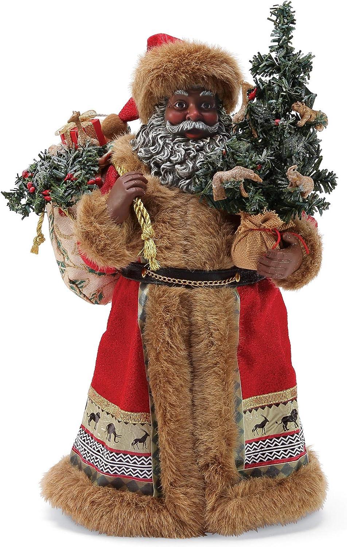 Department 56 Possible Dreams Santa Savannah Figurine, 11 Inch, Multicolor