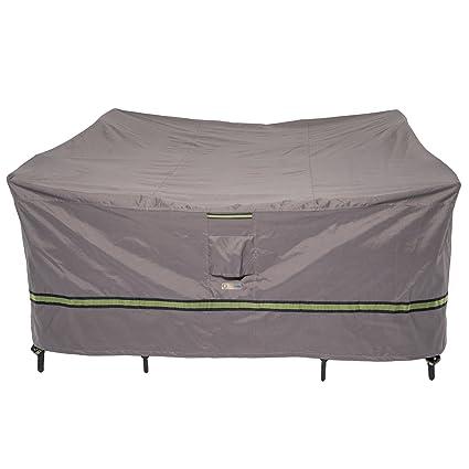 Amazon Com Duck Covers Soteria Rainproof 76 Long Square Patio
