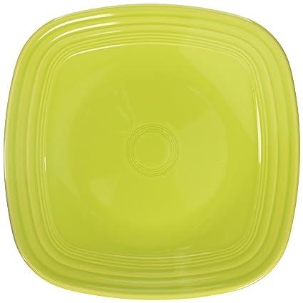 Fiesta 10-3/4-Inch Square Dinner Plate Lemongrass  sc 1 st  Amazon.com & Amazon.com | Fiesta 10-3/4-Inch Square Dinner Plate Lemongrass ...