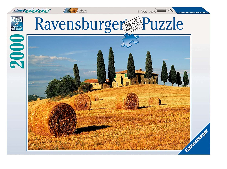 Ravensburger 16604 - Toskanische Landschaft - 2000 Teile Puzzle