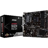 MSI B450M PRO-VDH, Sockel AM4, DDR4, HDMI, DVI-D, VGA, 1x Turbo M.2, 6x USB 3.1 Gen1 Micro-ATX Mainboard