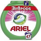 ARIEL 3 en 1 Pods Sensation Rose Capsules 47 Lavages - Lot de 2
