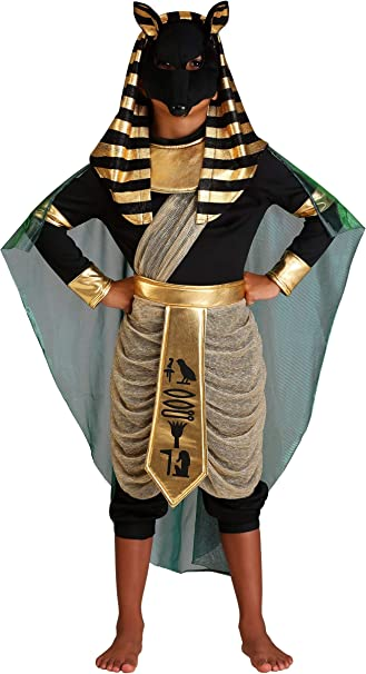 Fun Costumes Anubis - Disfraz infantil - Multicolor - X-Large ...