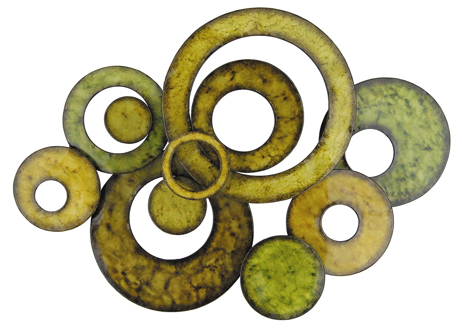 Awesome Circle Metal Wall Art Gallery - The Wall Art Decorations ...
