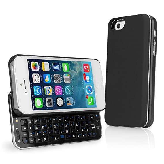 the best attitude d6d99 bf353 Amazon.com: BoxWave Keyboard Buddy iPhone 5s / 5 Case - Backlit ...