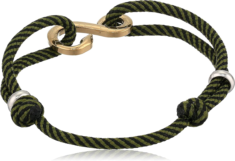 Fossil Men's Casual Cord Bracelet