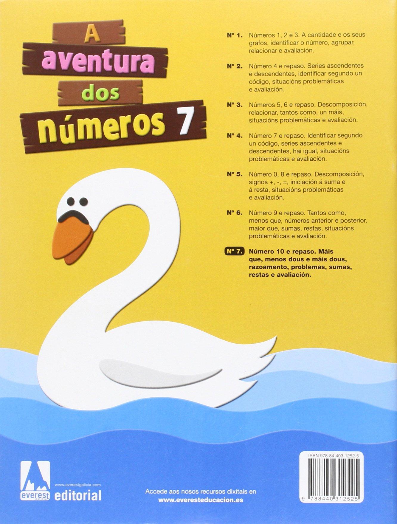 A aventura dos números 7 - 9788440312525: Amazon.es: Díez Torío Ana María,  Estébanez Estébanez Aurora, Calvo Rojo María del Carmen, Anievas Alfredo,  ...